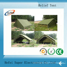 Galvanized Steel Two Layer Disaster Relief Tents